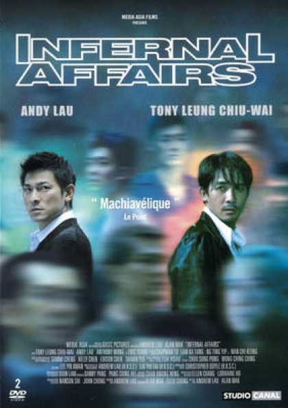 French DVDs - Infernal Affairs 1