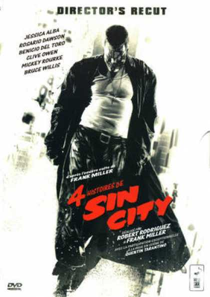 French DVDs - Sin City