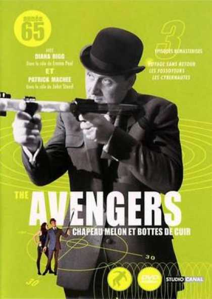 French DVDs - The Avengers 1965 Vol 1