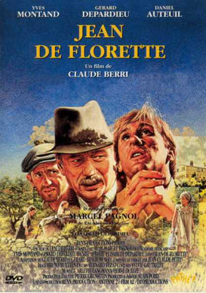 French DVDs - Jean De Florette