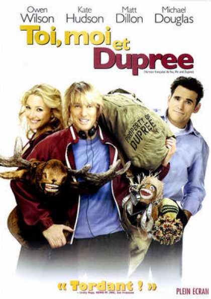 French DVDs - You Me And Dupree (2006) FRENCH CANADAIN
