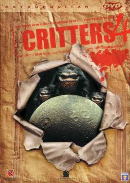 French DVDs - Critters 4