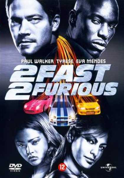 French DVDs - 2 Fast 2 Furious