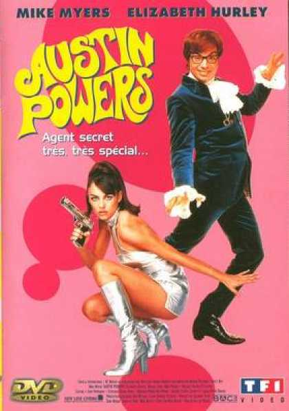 French DVDs - Austin Powers
