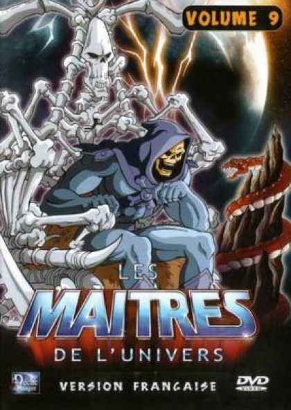 French DVDs - The Masters Of The Universe Vol 9