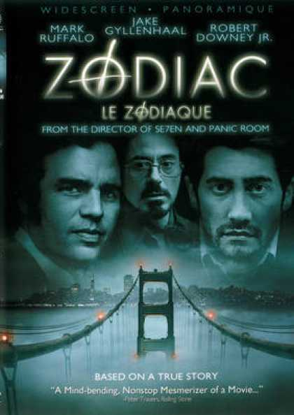 French DVDs - Zodiac