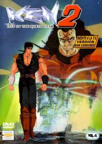 French DVDs - Ken 2 Fist Of The North Star Volume 4