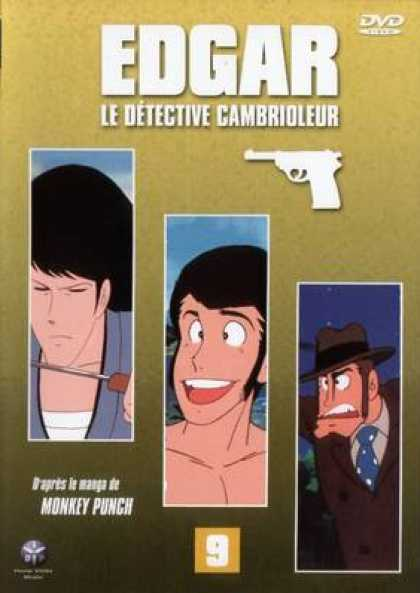 French DVDs - Edgar The Detective Vol 9
