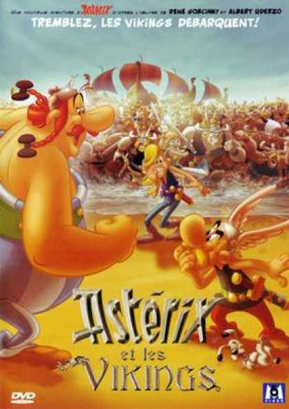 French DVDs - Asterix Et Les Vikings