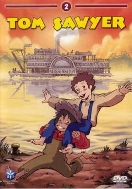 French DVDs - Tom Sawyer Vol 2