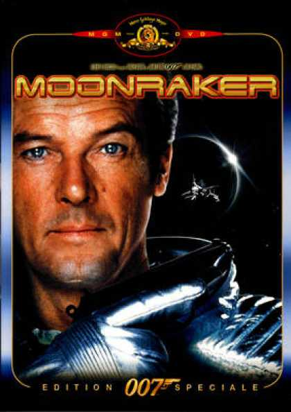 French DVDs - 007 James Bond - Moonraker