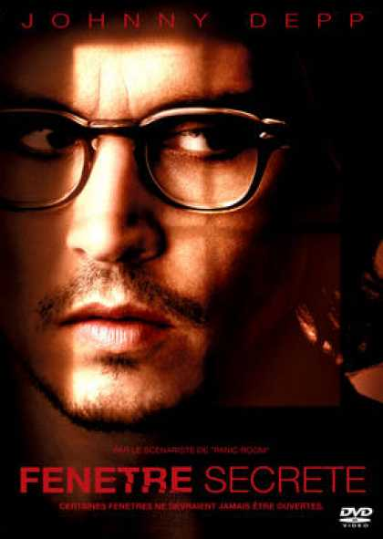 French DVDs - Secret Window