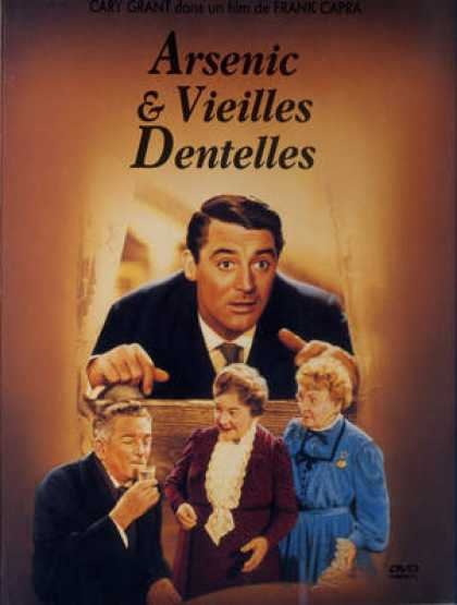 French DVDs - Arsenic Et Vieilles Dentelles