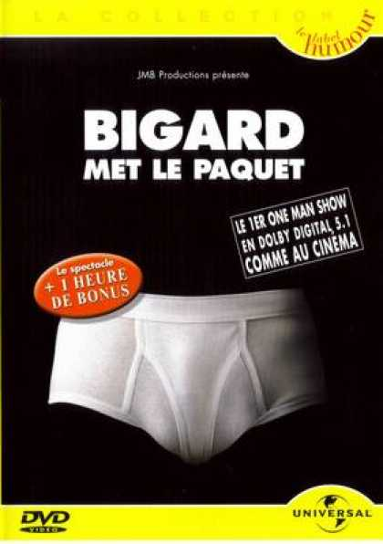 French DVDs - Bigard Met Le Paque T-
