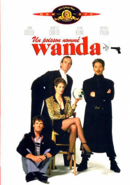 French DVDs - A Fish Called Wanda