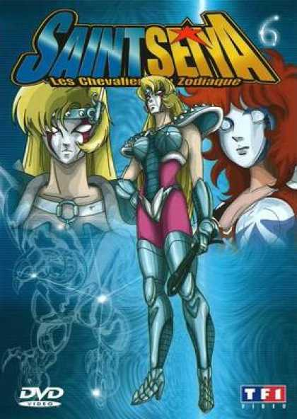 French DVDs - Saint Seiya Volume 06