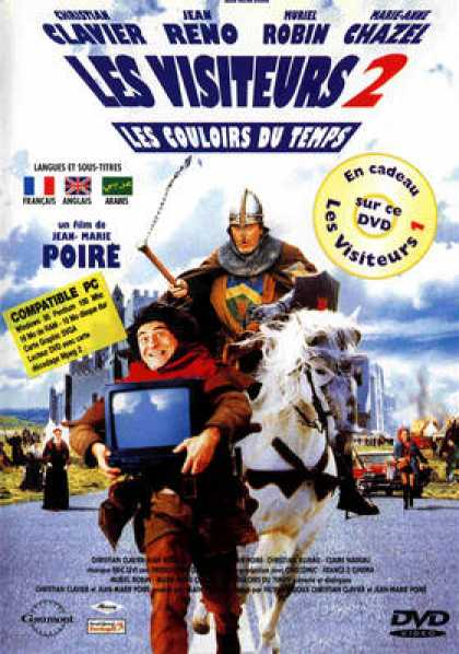 French DVDs - Les Visiteurs 2