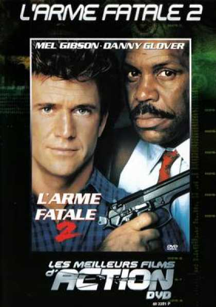 French DVDs - Lethal Weapon 2