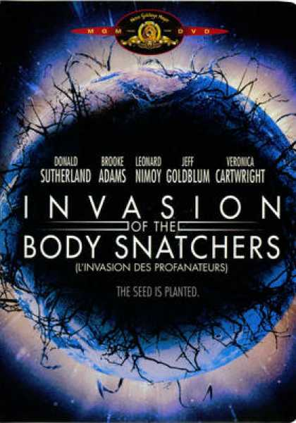 French DVDs - Invasion Of The Body Snatchers French Canadian