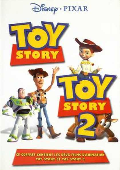 French DVDs - Toy Story 1 And 2