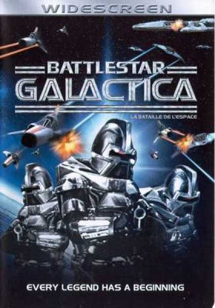 French DVDs - Battlestar Galactica Widescreen French Canadian
