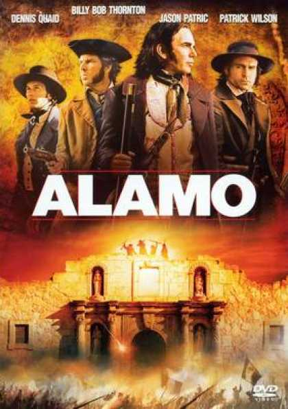 French DVDs - The Alamo