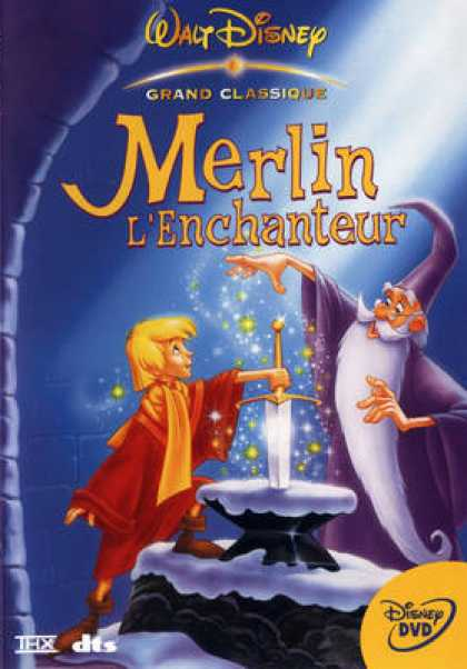 French DVDs - Merlin L Enchanteur