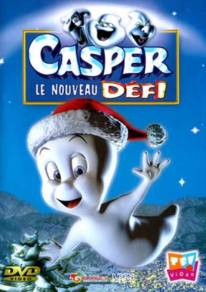 French DVDs - Casper Le Nouveau Defi