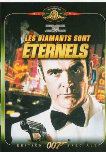French DVDs - Diamonds Are Forever