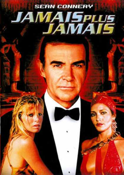 French DVDs - 007 James Bond - Never Say Never