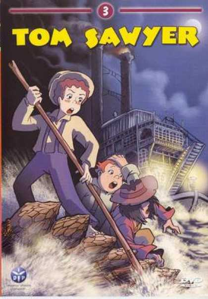 French DVDs - Tom Sawyer Vol 3