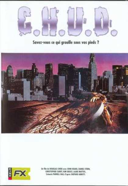 French DVDs - C.H.U.D.