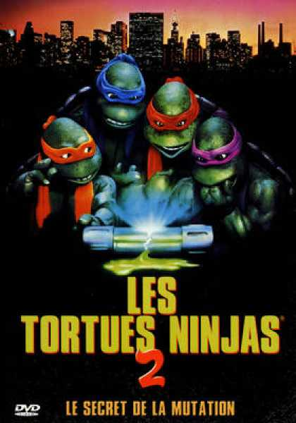French DVDs - Les Tortues Ninjas 2