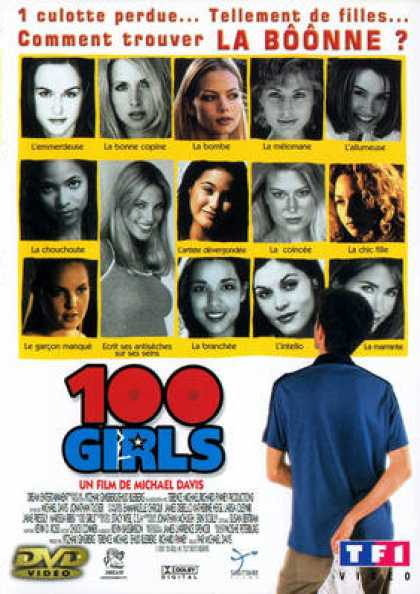 French DVDs - 100 Girls