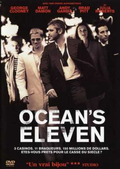 French DVDs - Ocean Eleven