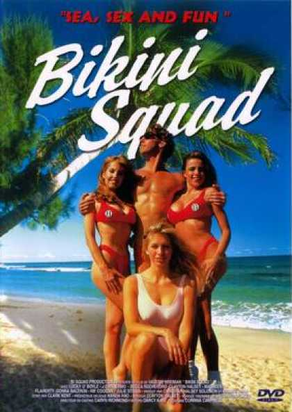 French DVDs - Bikini Squad