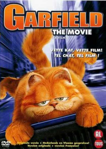 French DVDs - Garfield
