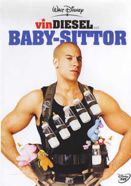 French DVDs - The Pacifier