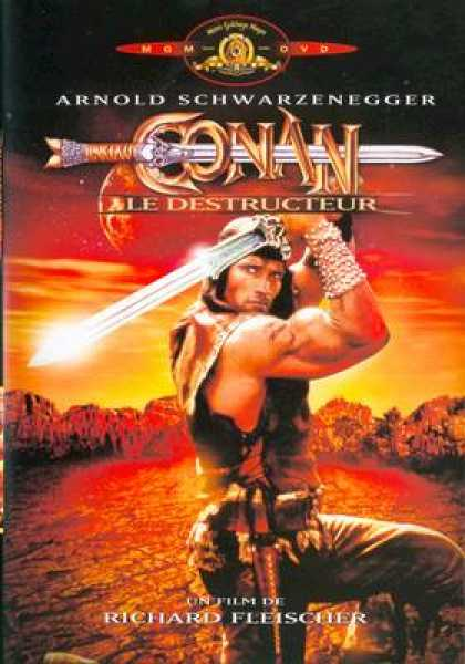 French DVDs - Conan The Destroyer