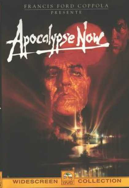 French DVDs - Apocalypse Now Widescreen Collection
