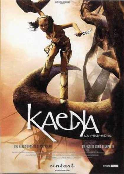 French DVDs - Kaena The Prophecy