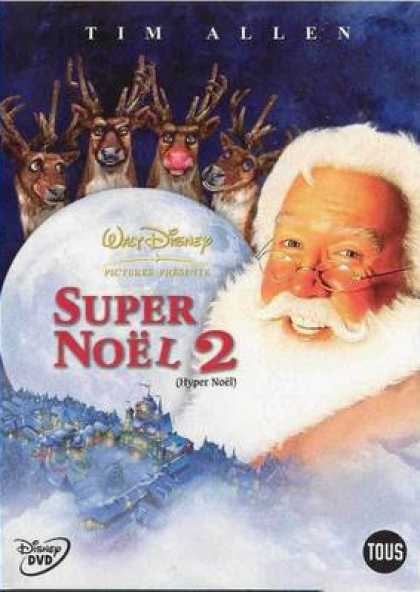 French DVDs - The Santa Claus 2