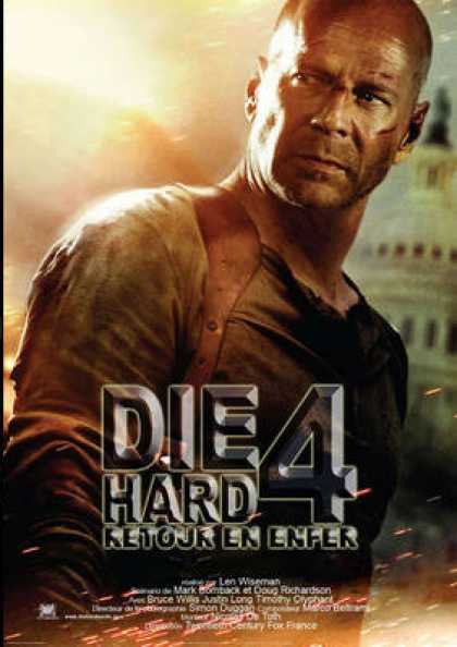 French DVDs - Die Hard 4