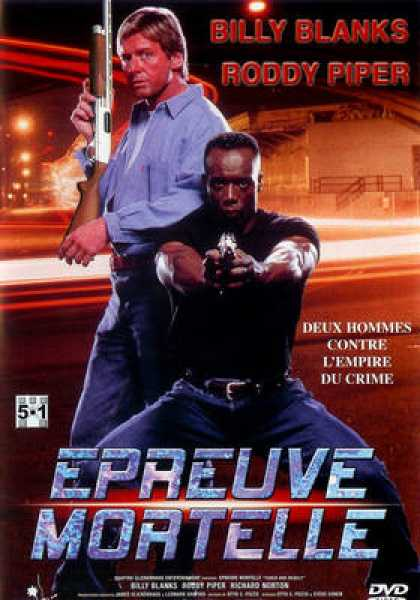 French DVDs - Epreuve Mortelle