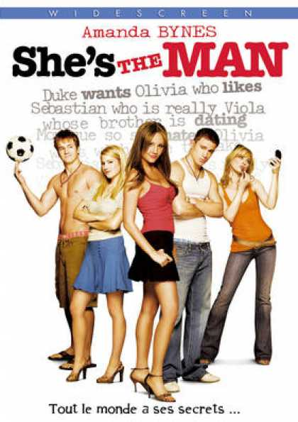 French DVDs - She's The Man