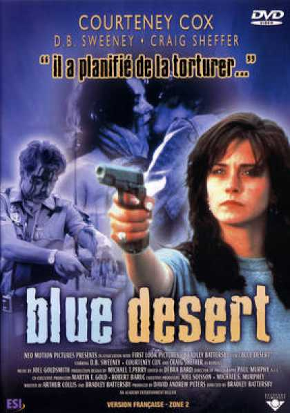 French DVDs - Blue Desert