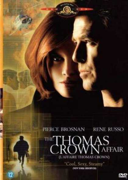 French DVDs - The Thomas Crown Affair 1999