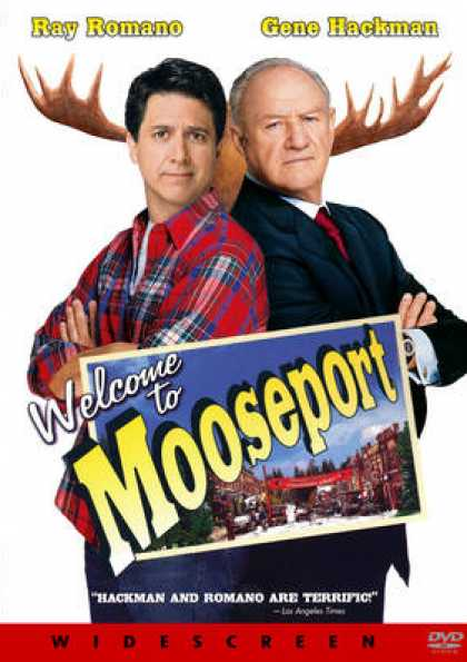 French DVDs - Welcome To Mooseport