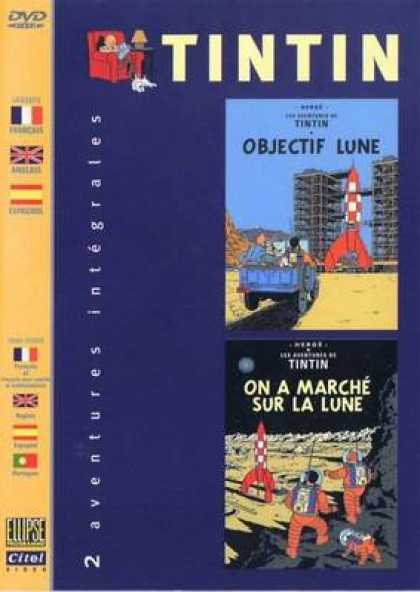French DVDs - The Adventures Of Tin Tin Vol 10