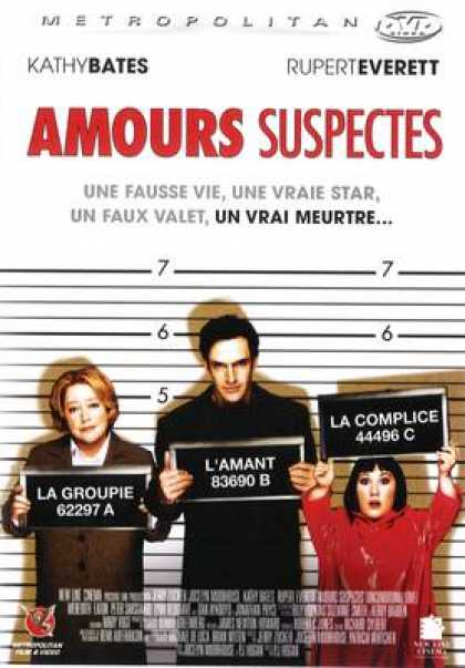 French DVDs - Amours Suspectes